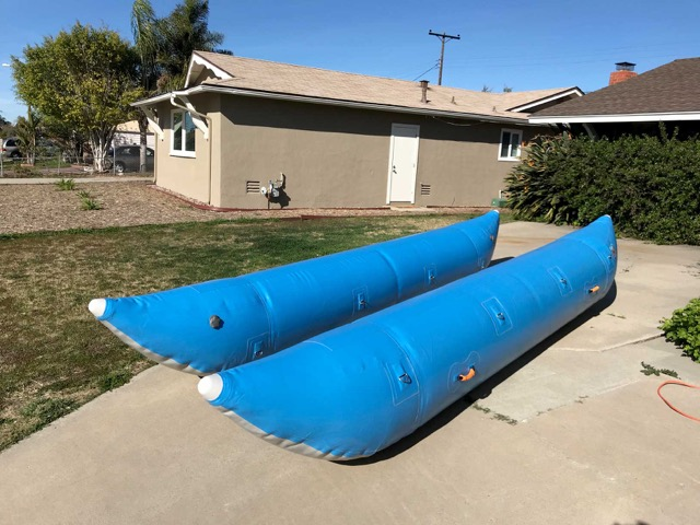 SierraRios RAFTS FOR SALE: self-bailers and catarafts