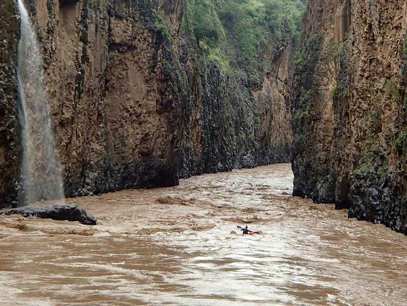 Blue Nile (Abay): Grand Canyon of the Nile raft/kayak